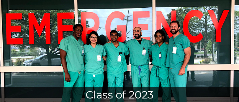 Emergency Medicine Class of 2024