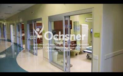 B-Roll of Ochsner Medical Complex - Iberville