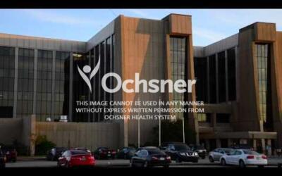 B-roll of Ochsner hospital exteriors