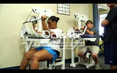 Elmwood Fitness Center footage