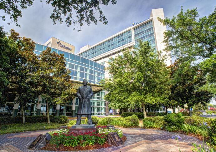 Ochsner Health Flagship Campus in New Orleans LA