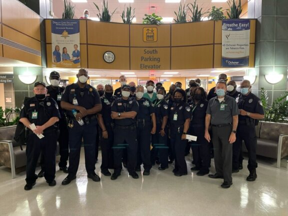 8 29 21 OMC New Orleans Security Team at Jeff Hwy