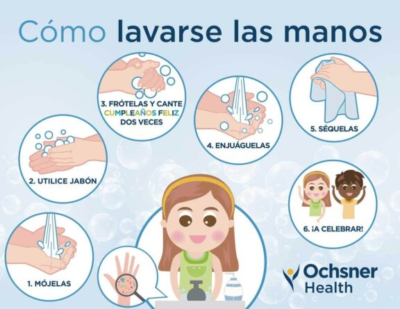 How to wash your hands spanish 2