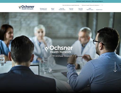 2019 Ochsner Health Network Annual Report
