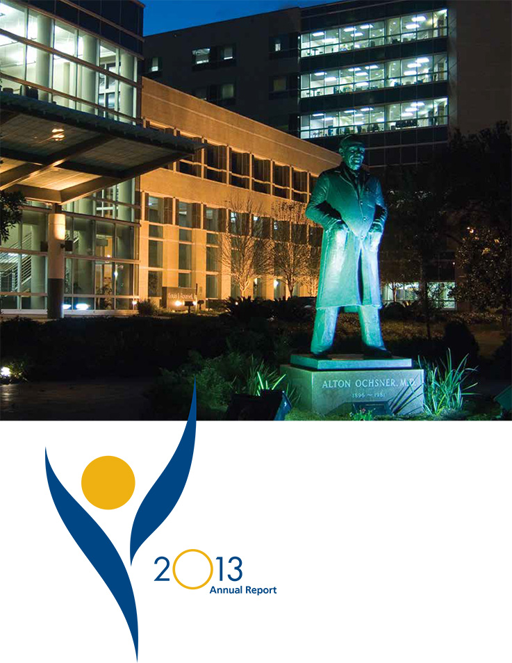 2013 Ochsner Annual Report