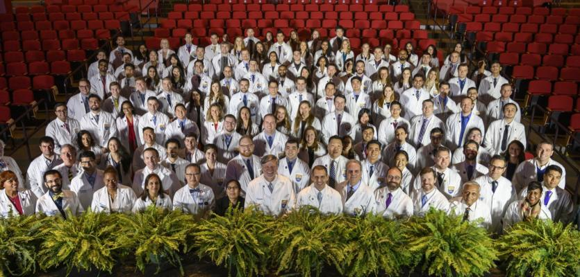 White Coat Ceremony Celebrates 113 Doctors-in-Training at