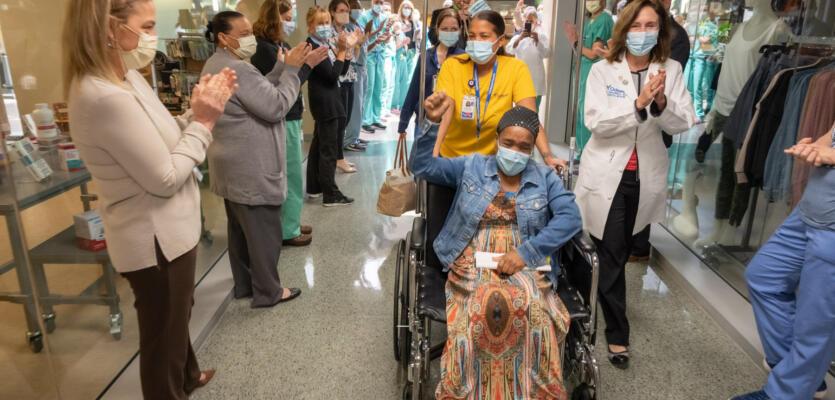 Ochsner Health Discharges 1,500th Covid-19 Patient