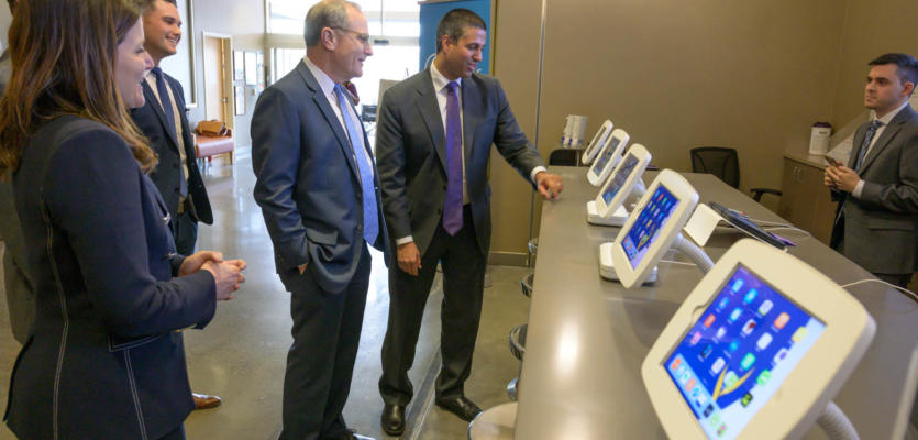 FCC Chairman Ajit Pai Visits Ochsner Medical Center to Explore Healthcare Innovation