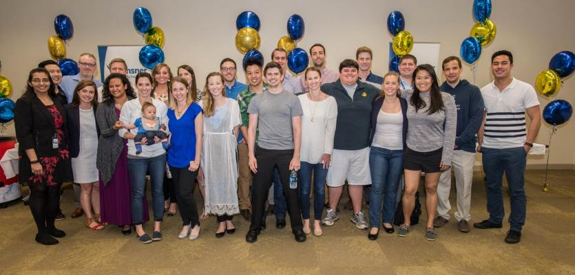 Fourth Class of Ochsner Clinical School Graduates Participate in Match Day