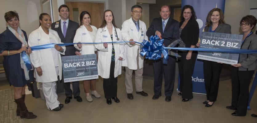 Ochsner Health Center – Denham Springs South Celebrates  Grand Re-Opening After Devastating Flood