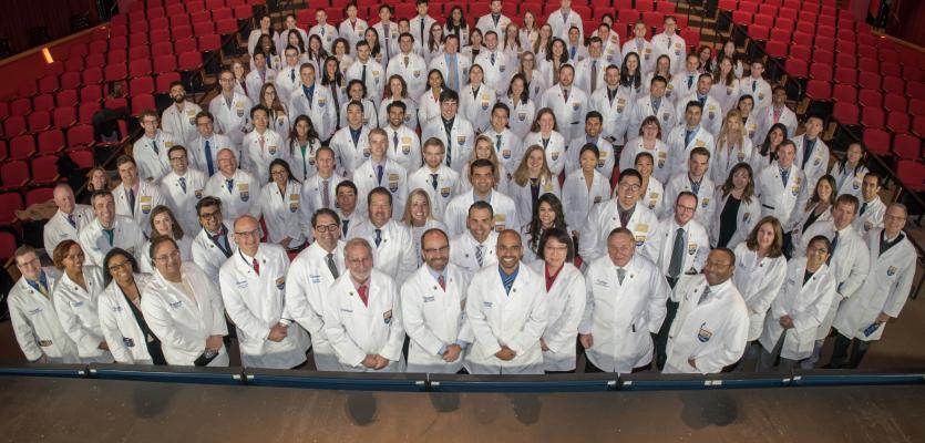 UQ – Ochsner Clinical School Celebrates 108 Doctors-in-Training at White Coat Ceremony