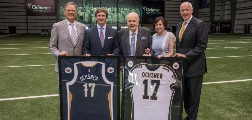 New Orleans Saints & Pelicans Announce New Name for Training Facilities with Partner Ochsner