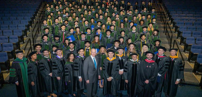 University of Queensland Ochsner Clinical School  Honors 2019 Graduates at Culmination Ceremony