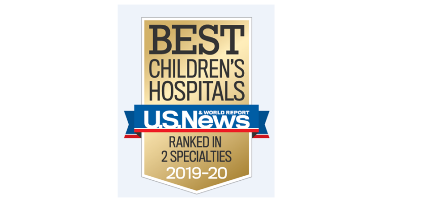 Ochsner Hospital for Children Named a 'Best Children's Hospital' by U.S. News & World Report in Two Specialties