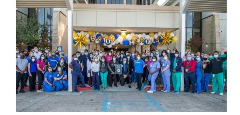 Leonard J. Chabert Medical Center Resumes Inpatient Services and Honors Team Following Hurricane Ida