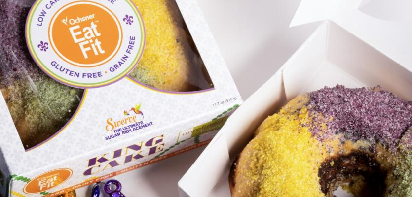 Eat Fit King Cake: Low Carb, Gluten Free, Dairy Free