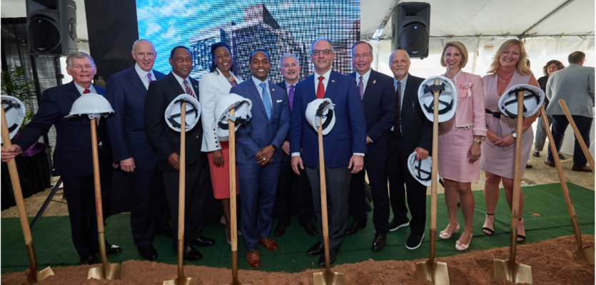 Ochsner LSU Celebrates One Year and Groundbreaking for LSUHS Center for Medical Education