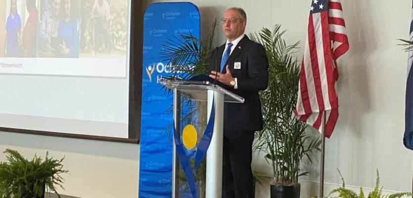 Ochsner and State Leaders Announce  10-Year Vision for a Healthy State