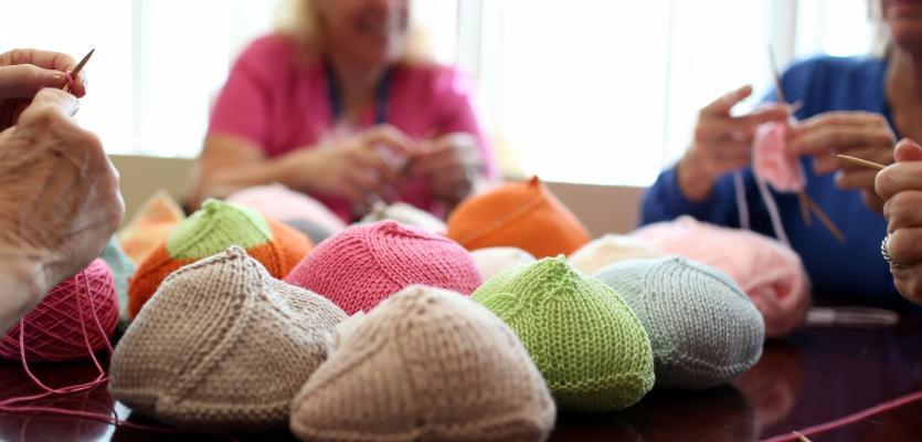 Ochsner Employees Comfort Breast Cancer Survivors …  Through Knitting