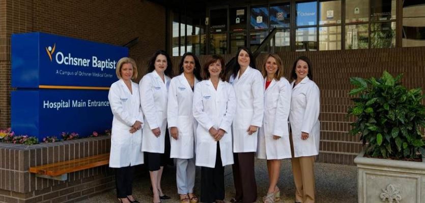 Ochsner Baptist Medical Center Welcomes Lakeside Women's Specialty Center Physicians