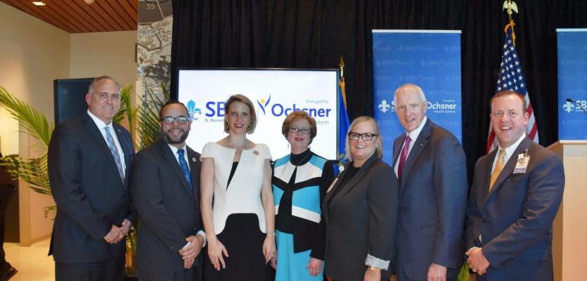 Ochsner Health System and St. Bernard Parish Hospital Celebrate Partnership