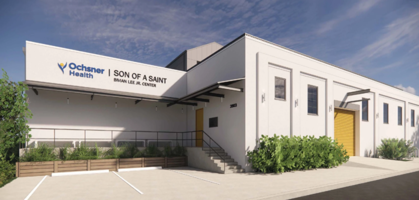 Ochsner Health Teams Up with Son of a Saint to Invest in New Orleans' Youth