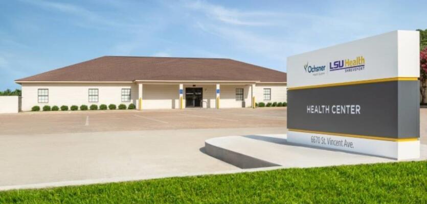 Ochsner LSU Health Shreveport Opens Health Center on St. Vincent Avenue