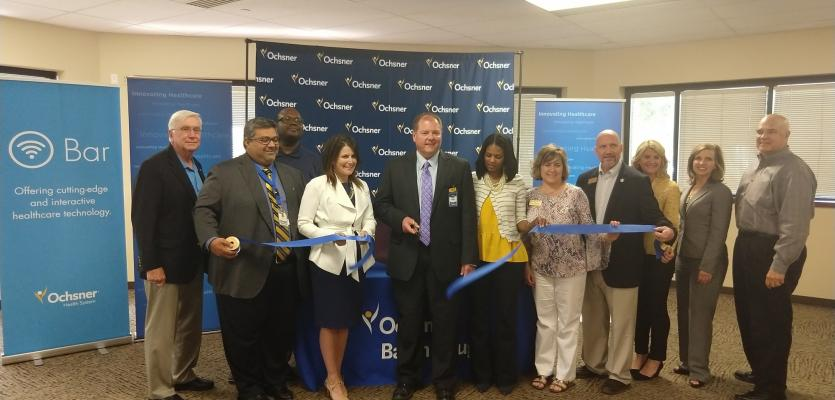Ochsner Baton Rouge Opens First O Bar in Capital Region