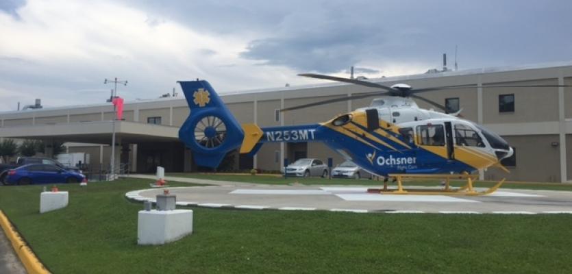 Singing River Health System and Ochsner Bring Lifesaving Helicopter Transportation to Gulf Coast