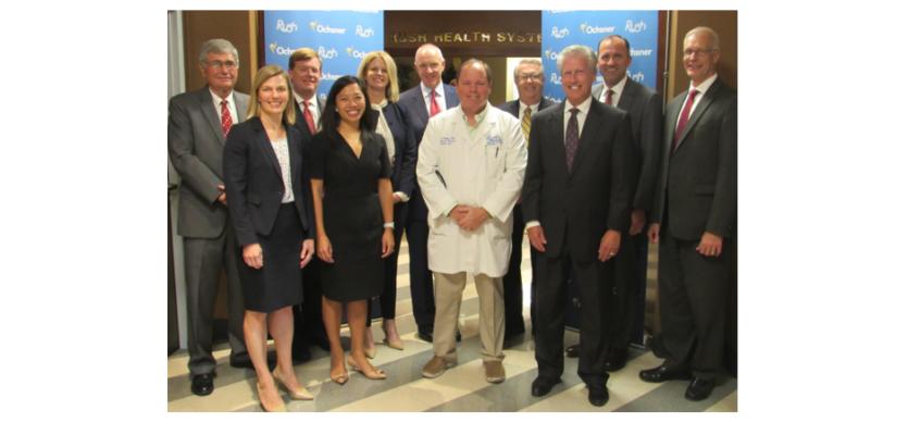 Rush Health Systems and Ochsner Health Announce Strategic Partnership