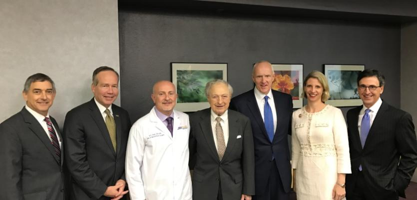 State of Louisiana, LSU, BRF and Ochsner Health System Sign Letters of Intent