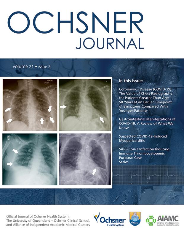 Ochsner Journal Summer Issue