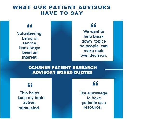 Quotes from Patient Advisors