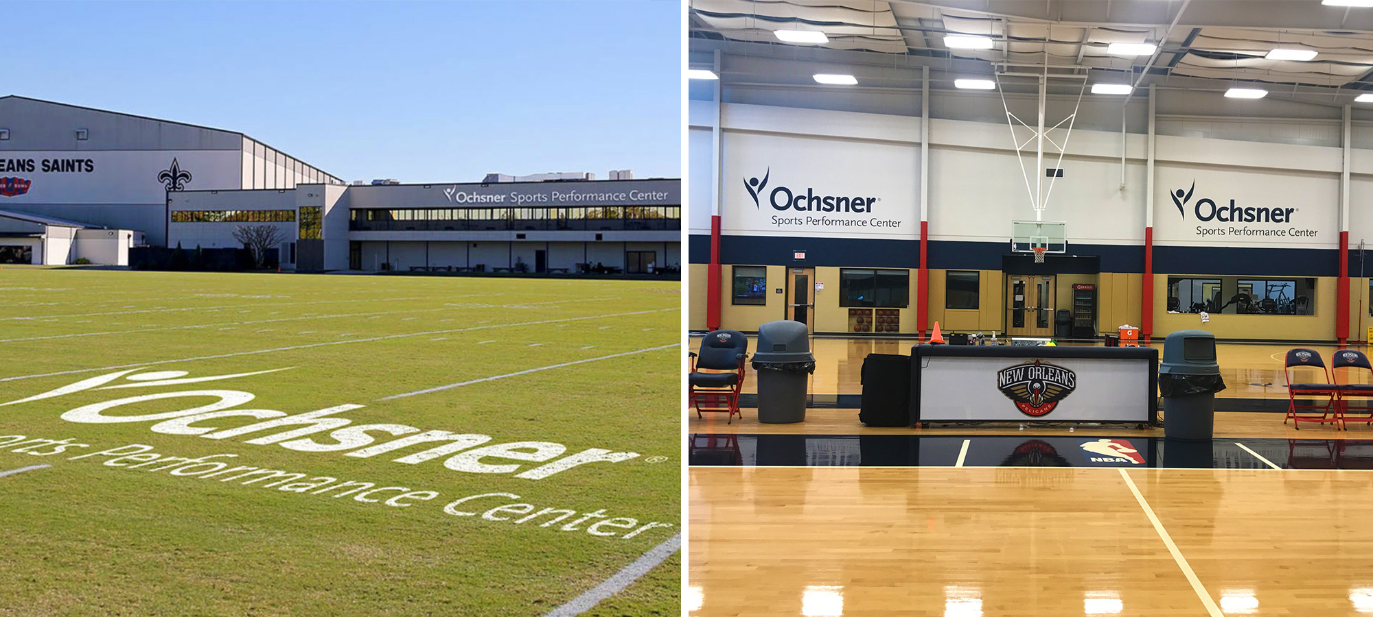 Ochsner Saints and Pelicans Training Facilities