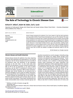 The Role of Technology in Chronic Disease Care