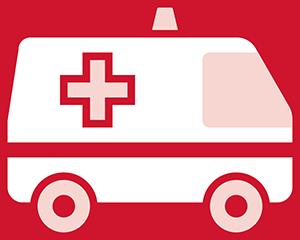 For medical emergencies, call 911