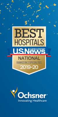U S  News and World Report | Ochsner Health System