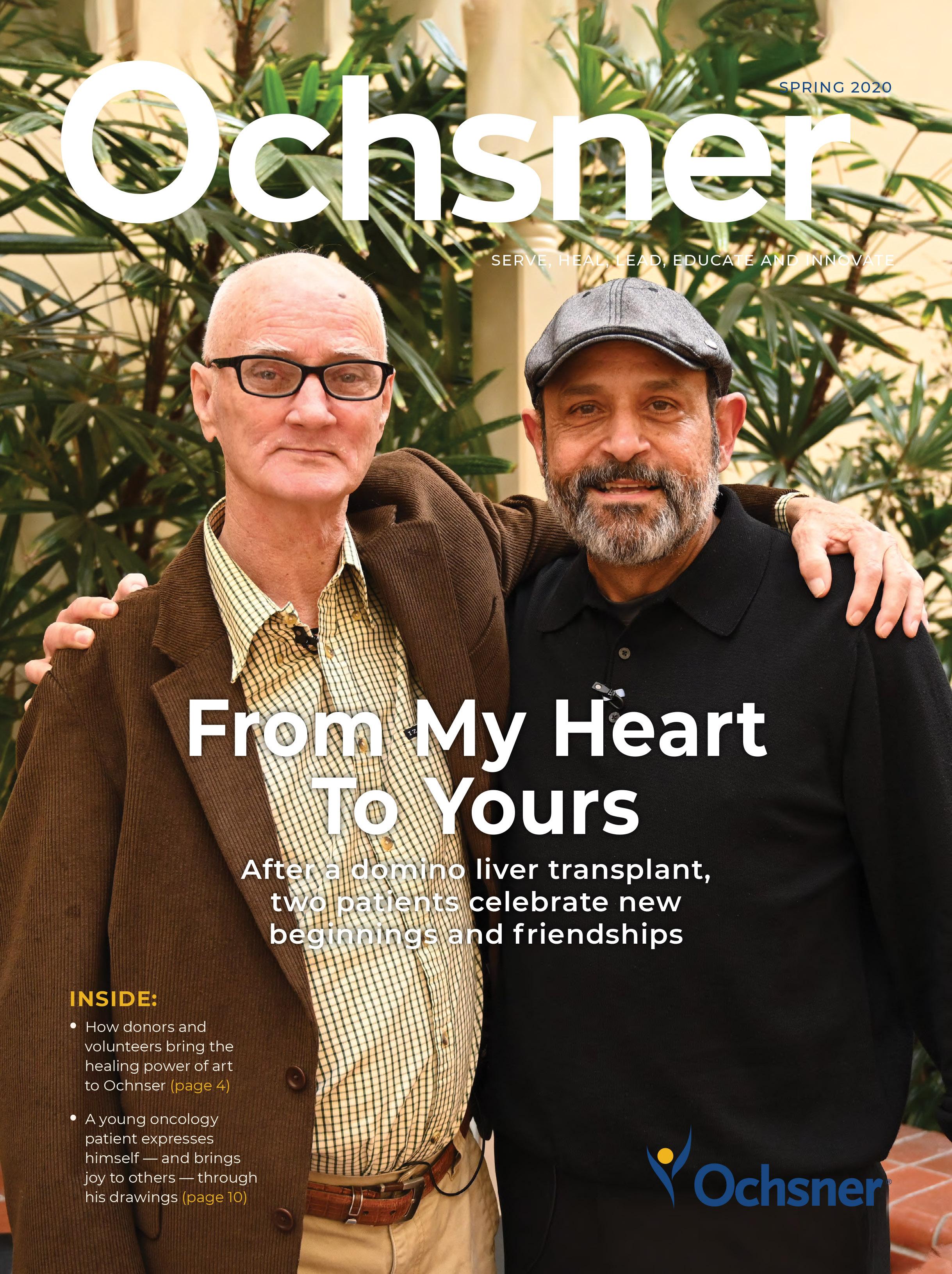 Ochsner Spring20 Cover