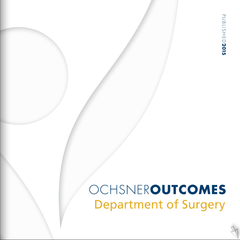 Ochsner Outcomes - Department of Surgery