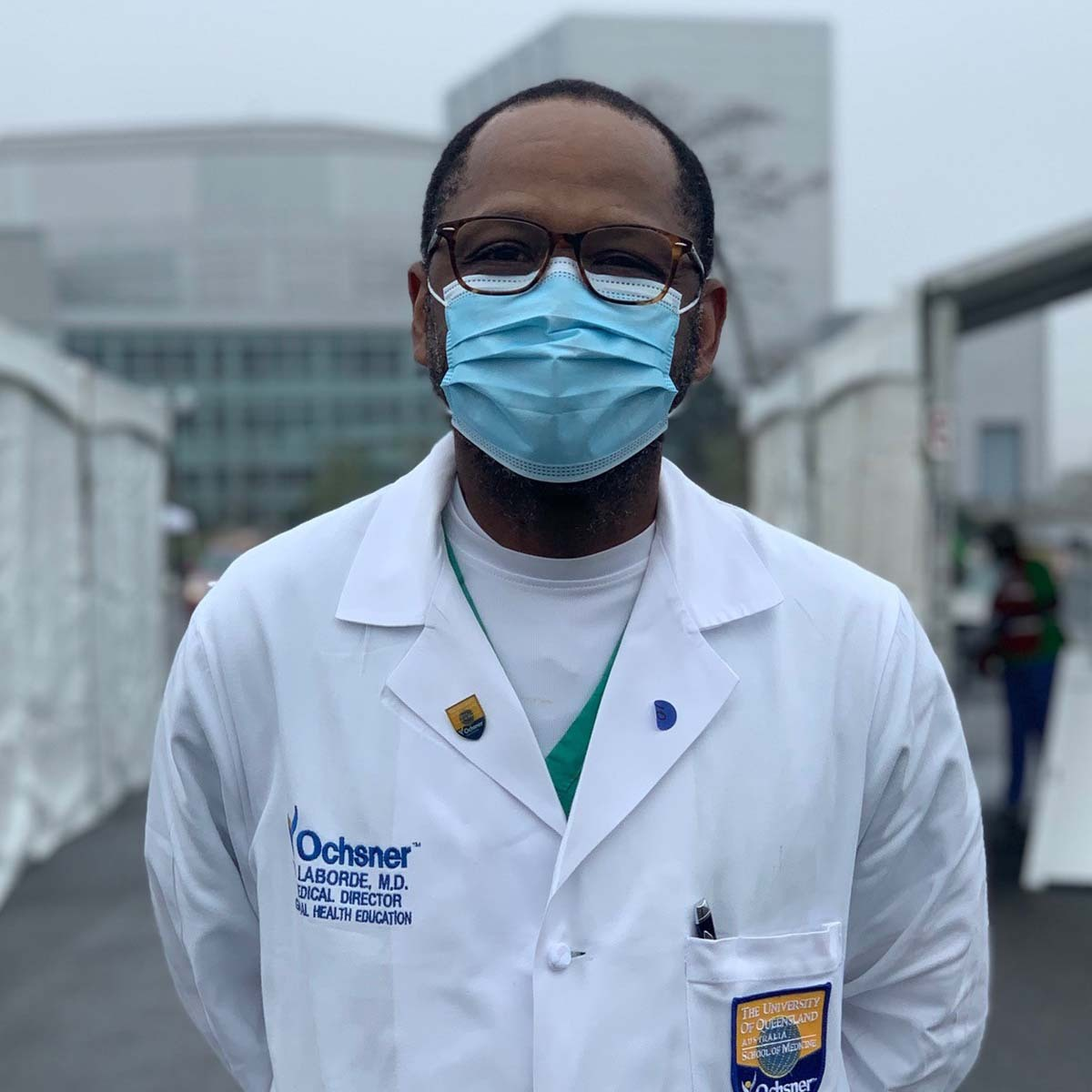 On The Front Lines: Dr. Yvens Laborde