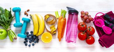 Newsletter Promo Food Fitness